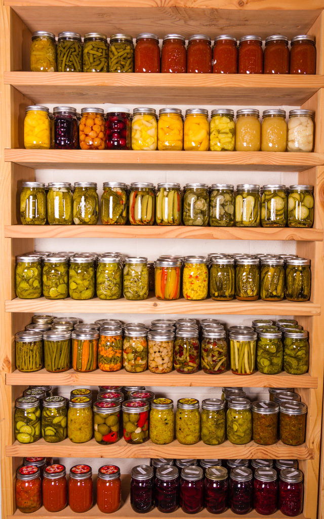 Canning Shelf