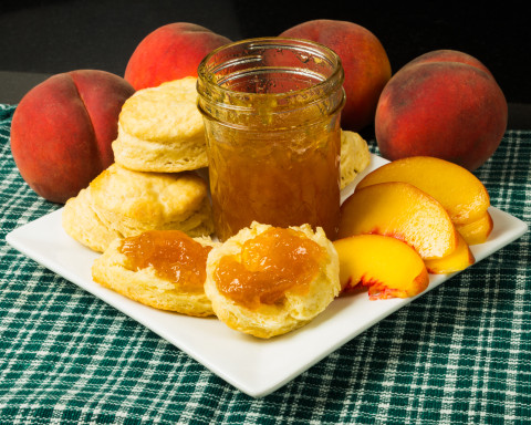 Buttermilk Biscuits & the Best Peach Jam