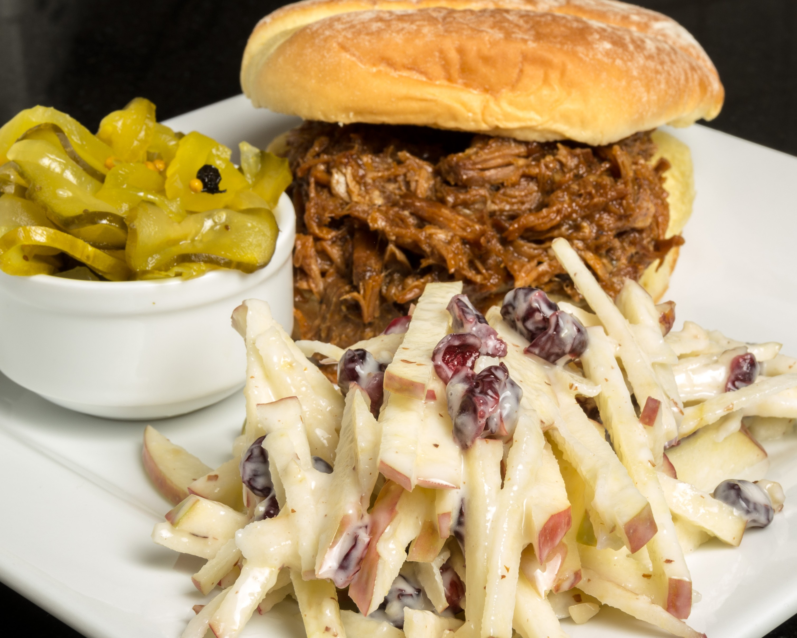 Pork Sandwich & Apple slaw