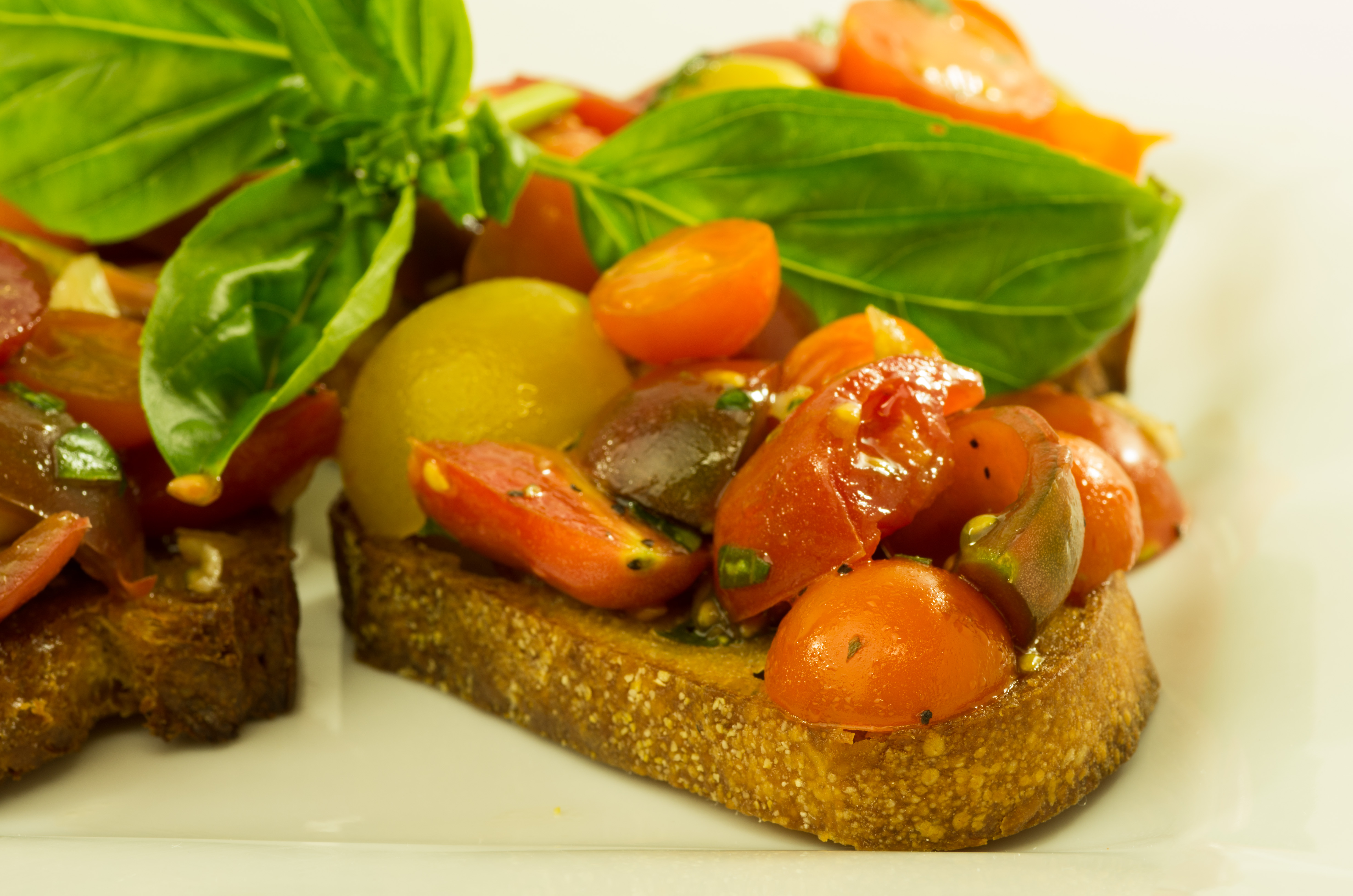 Tomato Bruschetta Three Ways