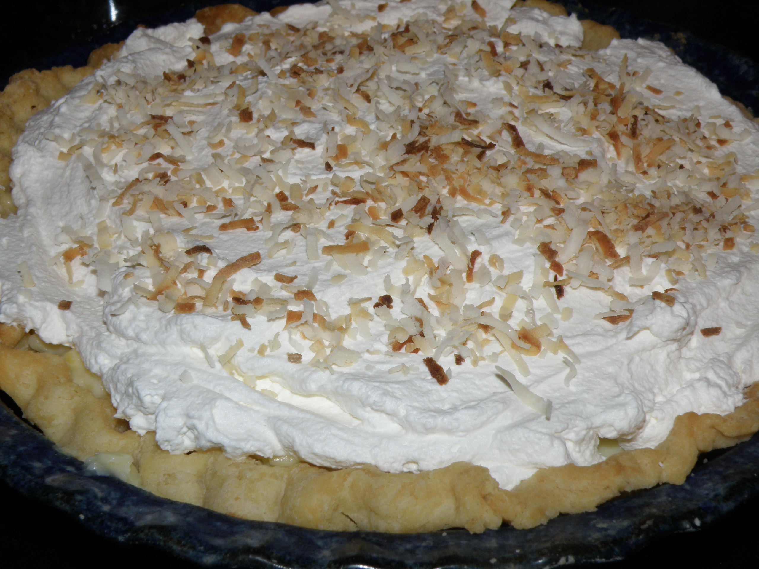 Celebrate National Pie Day with Coconut Cream Pie