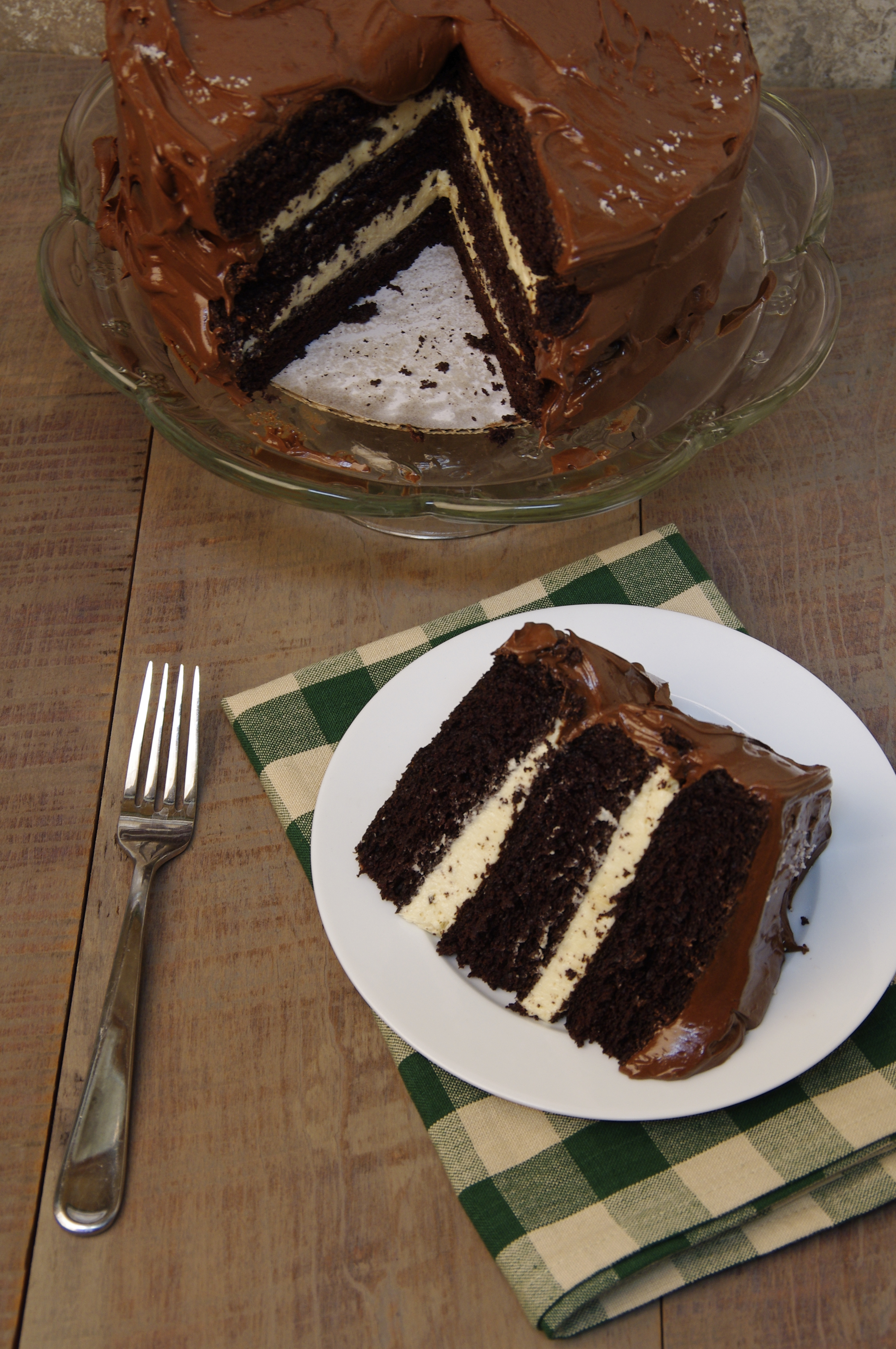 National Chocolate Cake Day – Two Cakes are Better than One!!