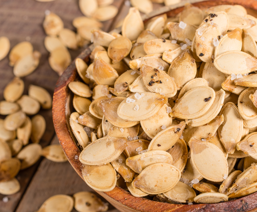 Roasted Pumpkin Seeds ~ 2 ways