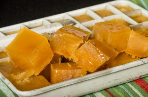 Apple cider ice cubes
