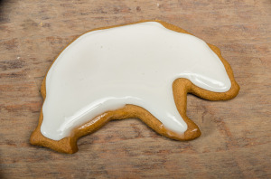 Bear Gingerbread Cookie