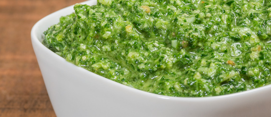 Fresh Kale Pesto