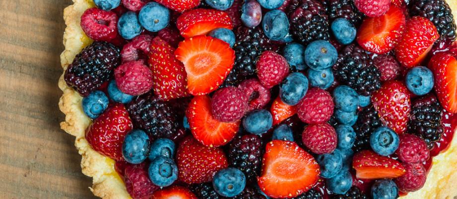 Fresh Oregon Berry Tart