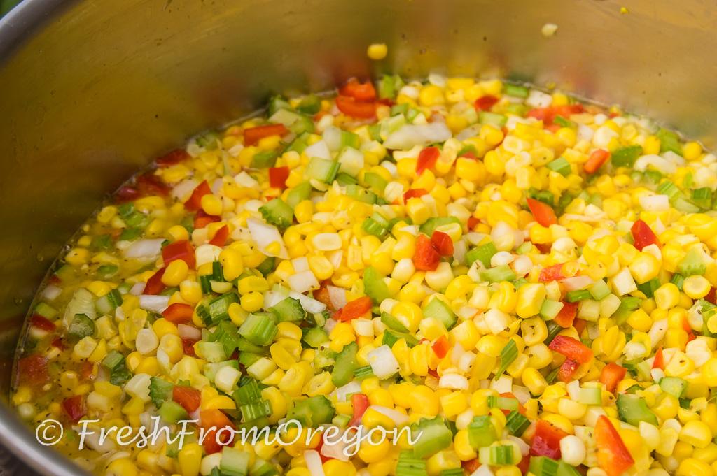 Corn Relish … Summer in a Jar