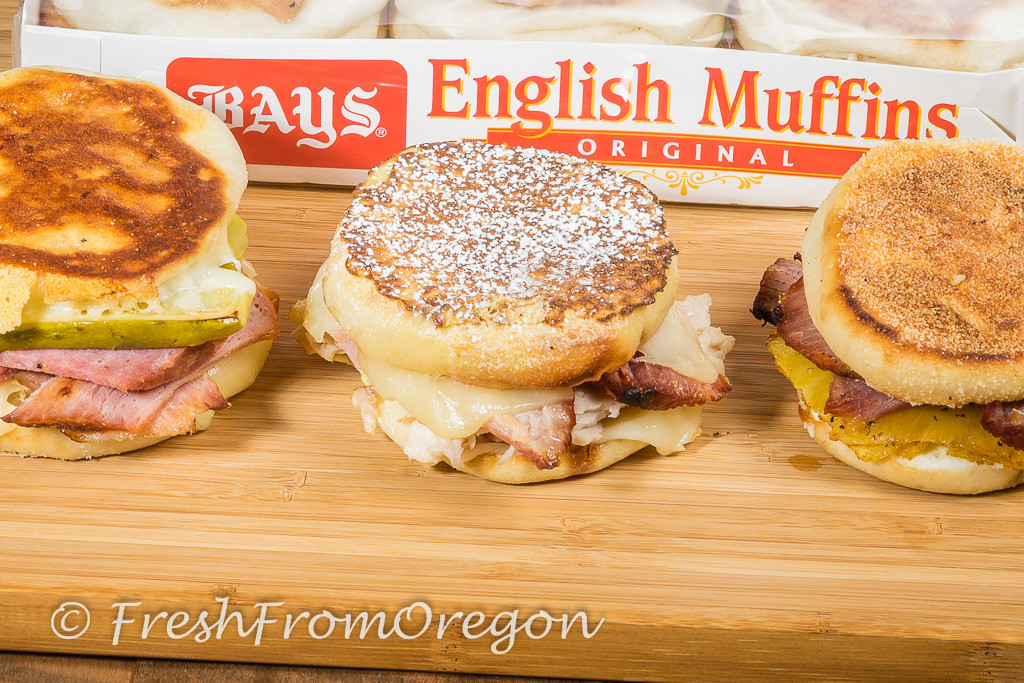 Sandwiches with Bays English Muffins