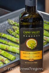 Roasted Asparagus with Lemon Olive Oil
