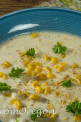 Summer Corn & Crab Chowder