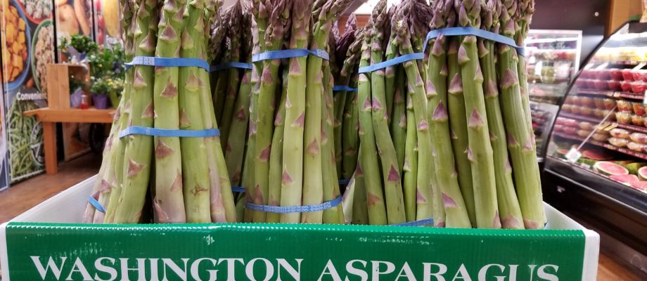 Washington Asparagus Fresh at your local Market Now!